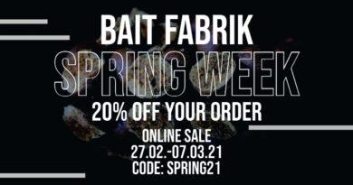 Spring-Week bei der Bait Fabrik