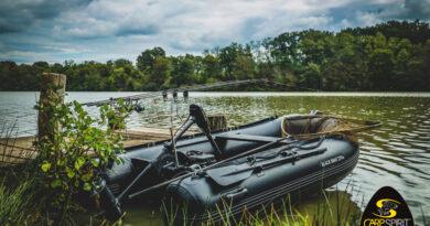 Carp Spirit Black Boats mit Upgrade