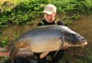 Kleiner Mann, großer Fisch