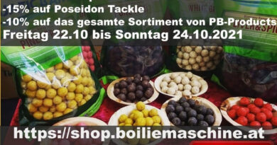ONLINEMESSE bei AQUATIC BAITS